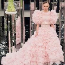 Сватбени рокли в розово – хитът на пролет/лято 2017