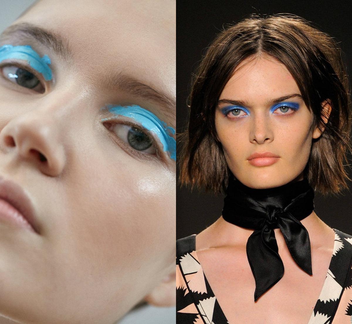 Оцвети ме в синьо! Грим идеи за впечатляващи очи