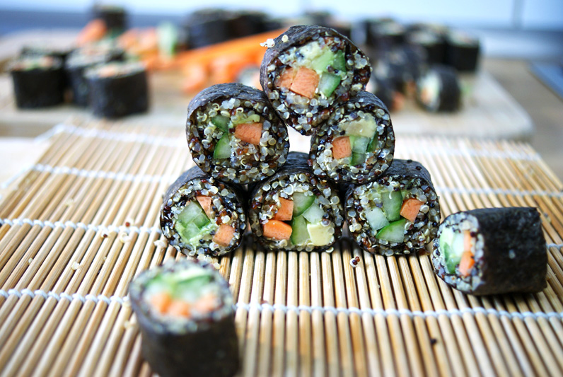 Вегетарианско суши с киноа