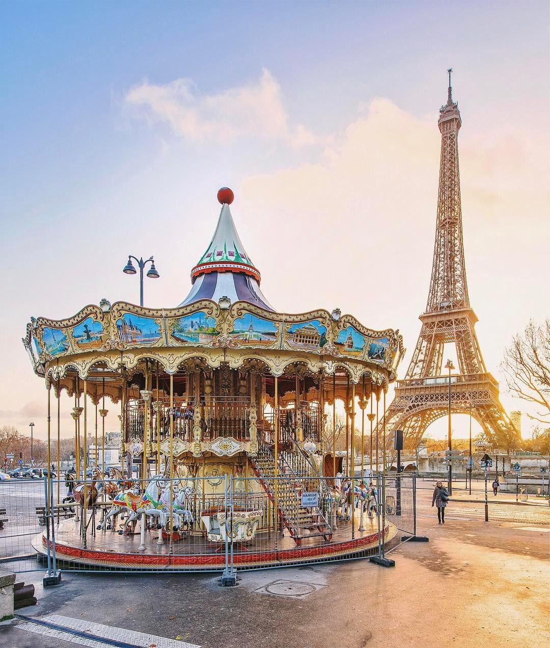 Париж на любовта и пролетта