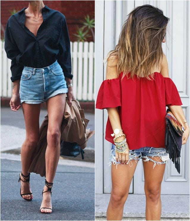 Как да носим: Шорти от деним