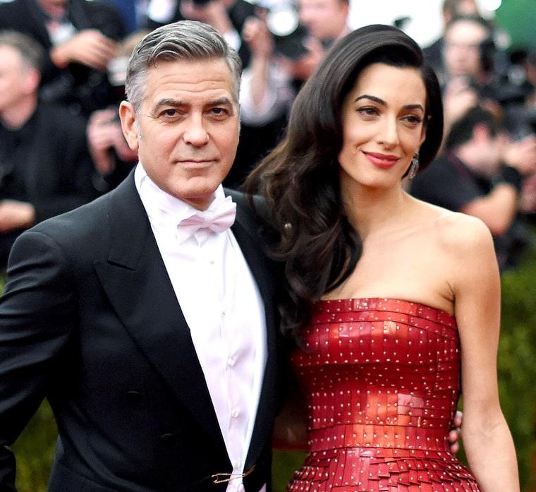 Семейство Клуни вече са родители