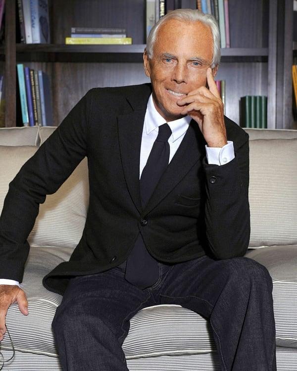 Джорджо Армани – властелинът на модата
