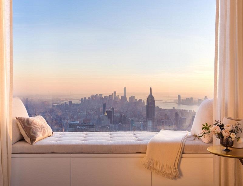 Лукс сред облаците на Ню Йорк
