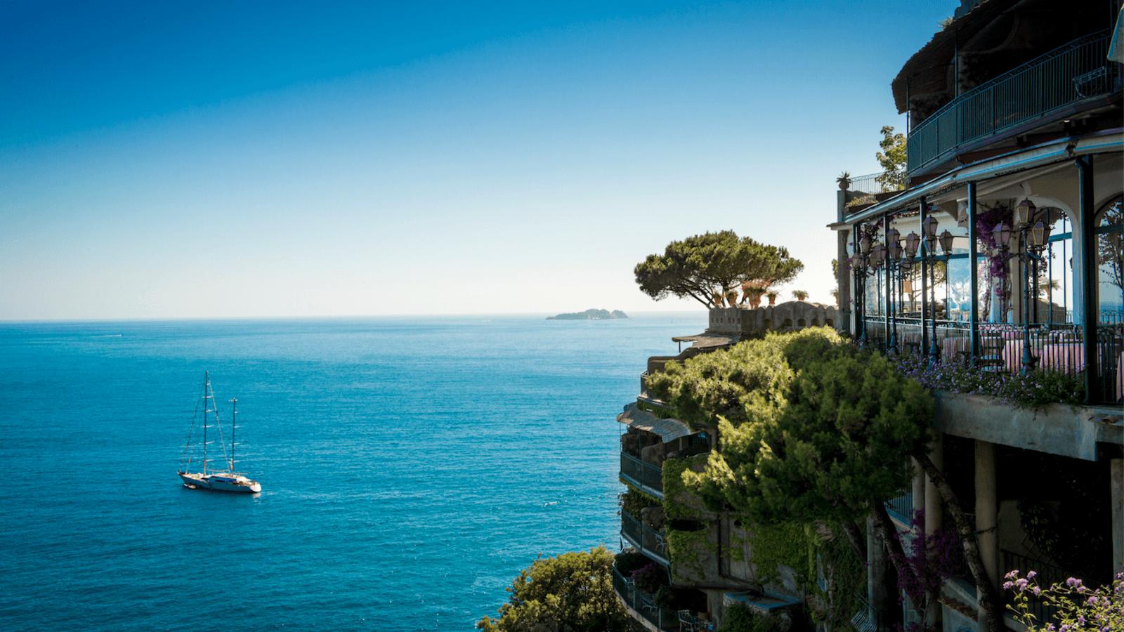 Най-красивите ресторанти с изглед към морето