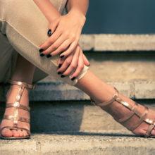Перфектните сандали според формата на стъпалото