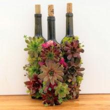 Нов живот за бутилките от вино