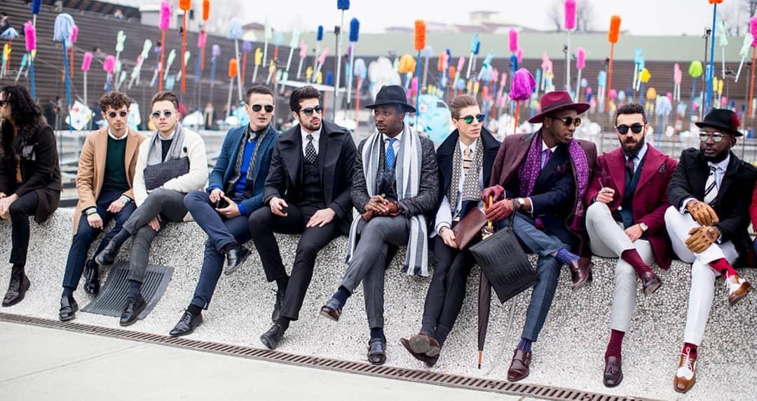 За стила на италианските мъже