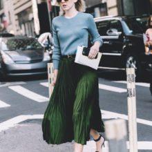 Как да носим: плисираната пола за принцеси