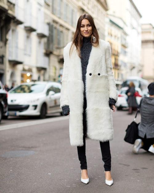 За бялото палто и дългите разходки