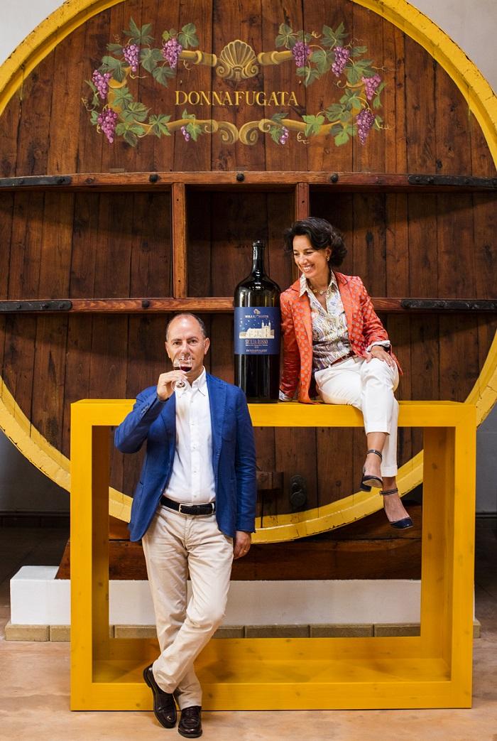 Подарък в бутилка с дъх на Сицилия