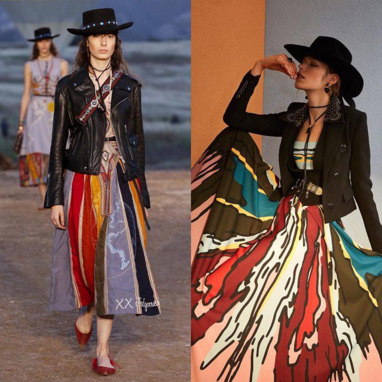 Кой кого копира в модата