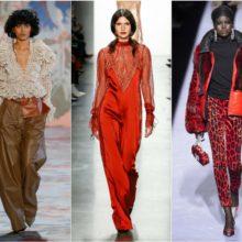 Страсти до червено от Седмицата на модата в Ню Йорк