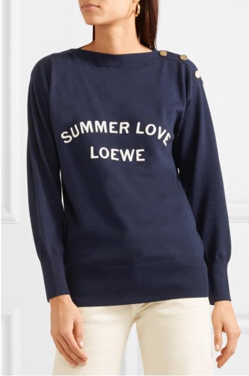 Вълнен пуловер от LOEWE