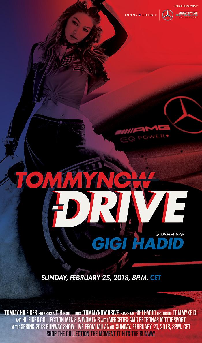 """Шоуто на TOMMY HILFIGER """"DRIVE"""" на живо във Fashion Inside"""