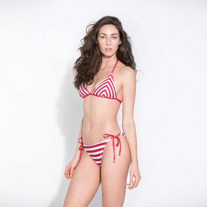 Sasha – Red Stripes от SUN DIVA SWIMWEAR