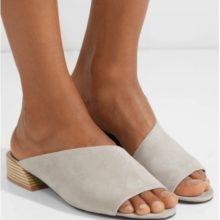 Велурени чехли от MERCEDES CASTILLO