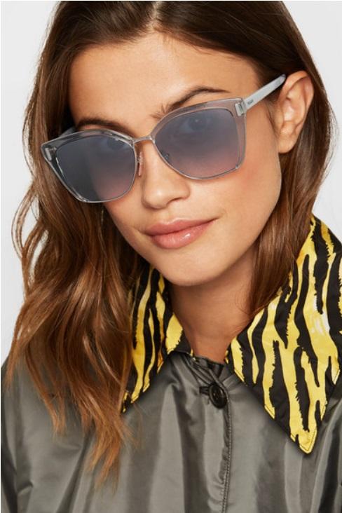 Cat-eye слънчеви очила от PRADA