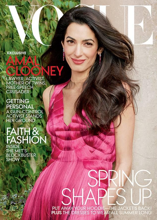Амал Клуни пред Vogue и обектива на Ани Лейбовиц