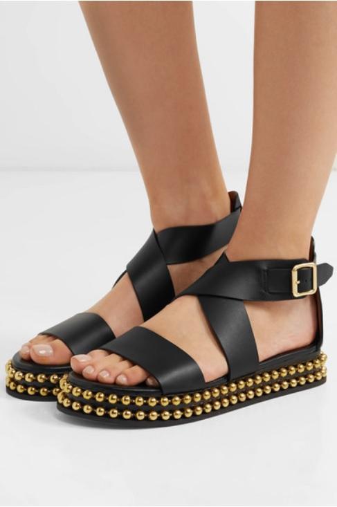 Кожени сандали от CHLOÉ