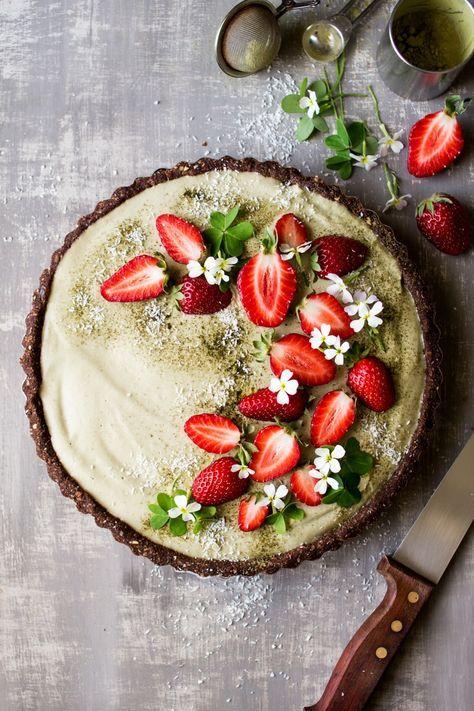 Вълшебен ягодов тарт