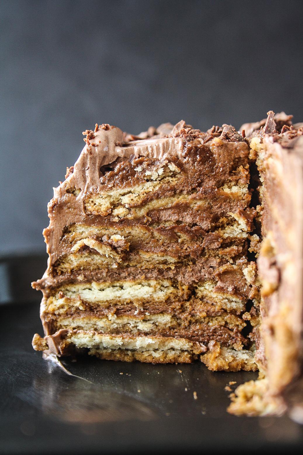 Съботни удоволствия: бисквитена торта
