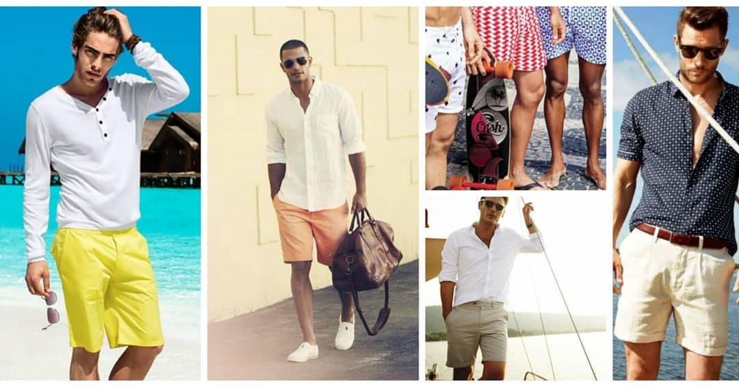 Мъжка плажна мода