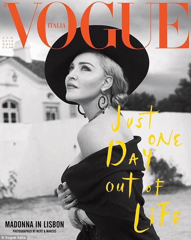 Мадона празнува юбилей с корица за Vogue
