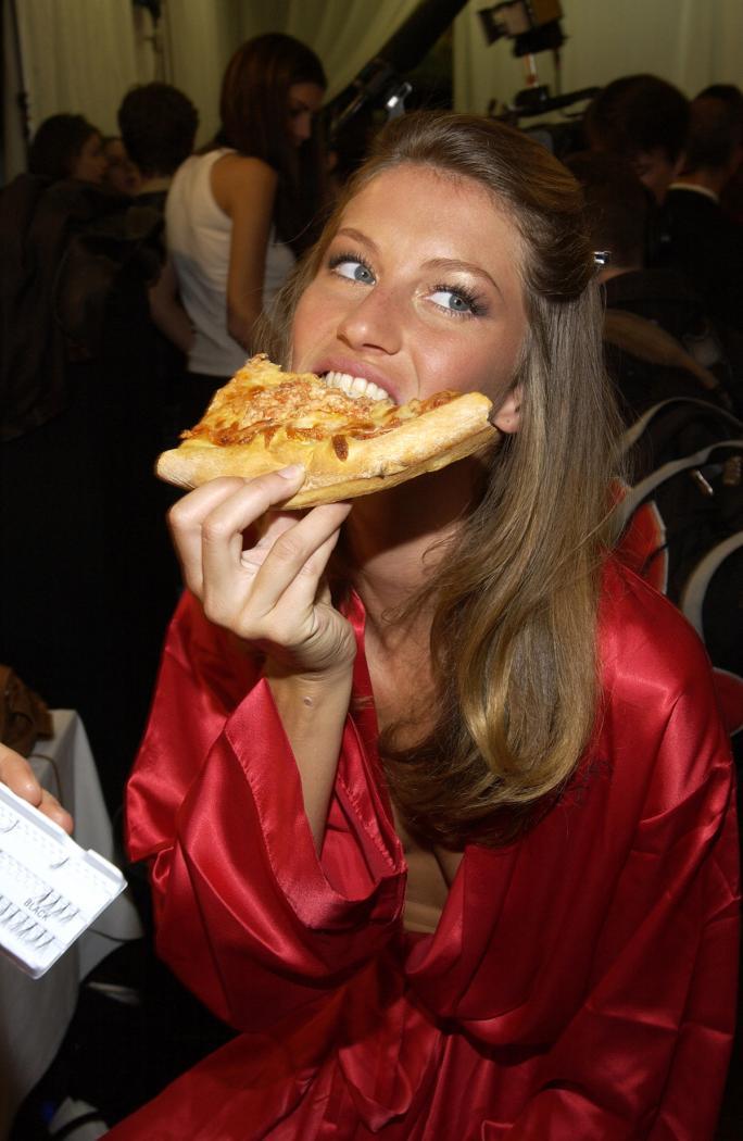 Жизел и junk food – вярвате ли на очите си?