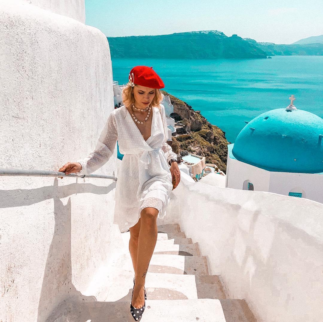 7 пъти модно вдъхновени от Санторини