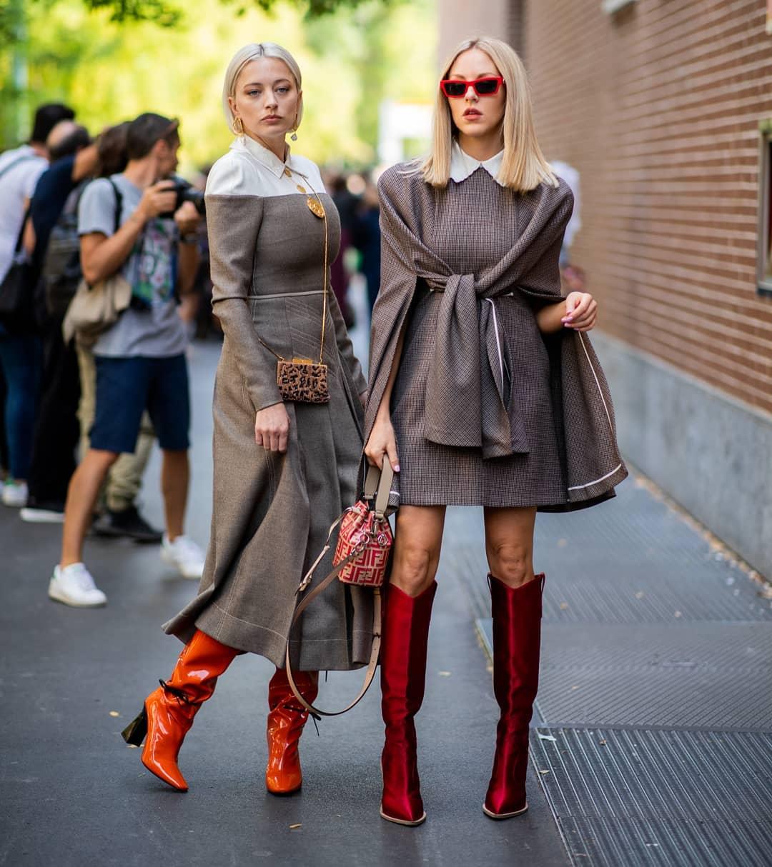 Божествените момичета на миланския Street Style