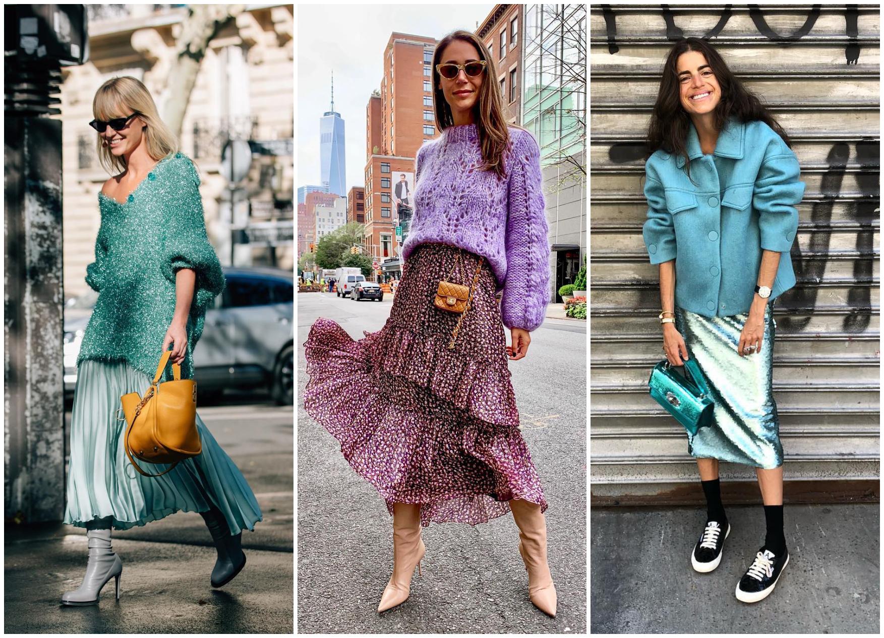 Как да носим цветовете на лятото и през есента