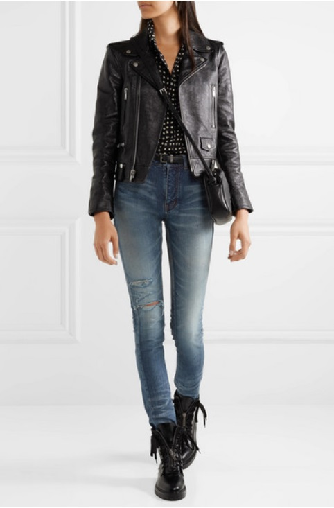 Skinny jeans от SAINT LAURENT