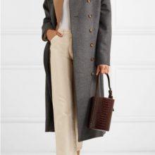 Oversized палто от вълна от TOTÊME