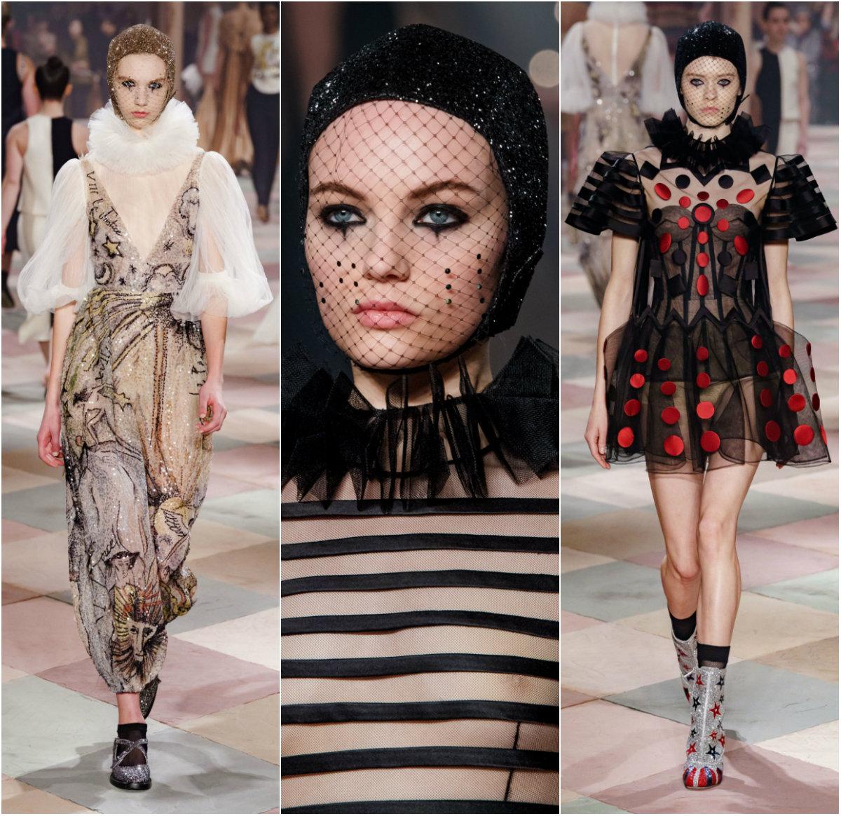 Вълшебният свят на цирка оживя в дефилето на Dior