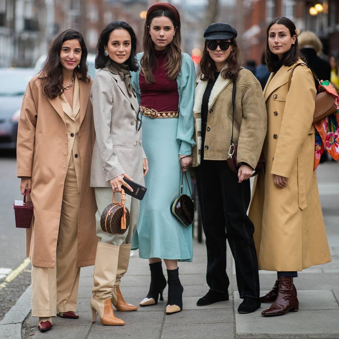 Street Style триумфите на Лондон