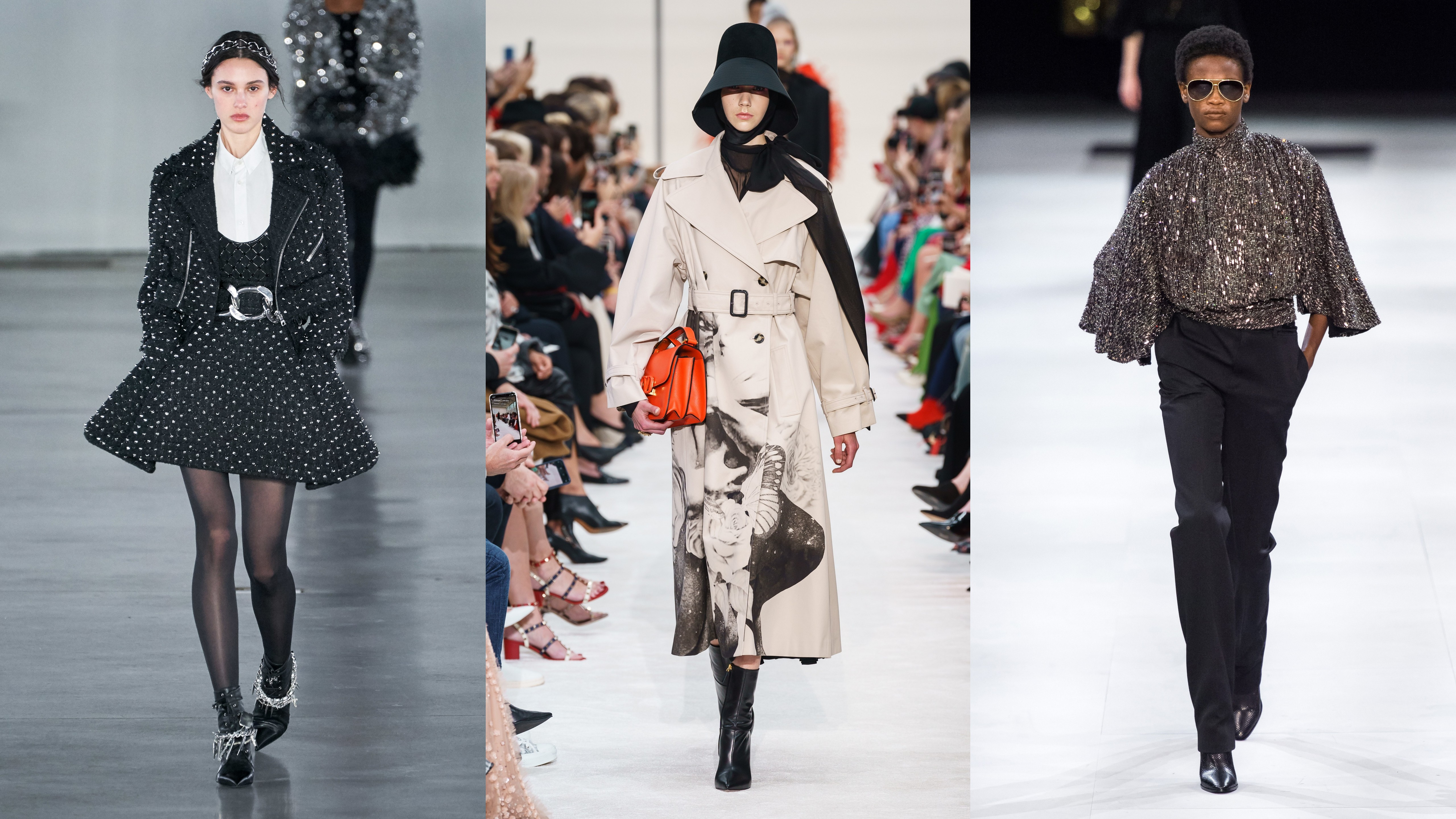 Celine, Balmain и Valentino – три различни гледни точки за есен/зима 2019