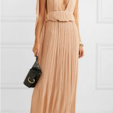 Плисирана макси рокля от CHLOÉ