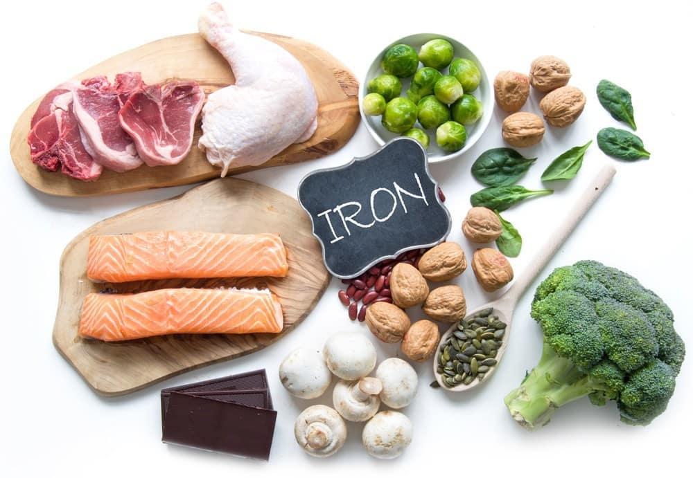 Храни, богати на желязо за желязно здраве
