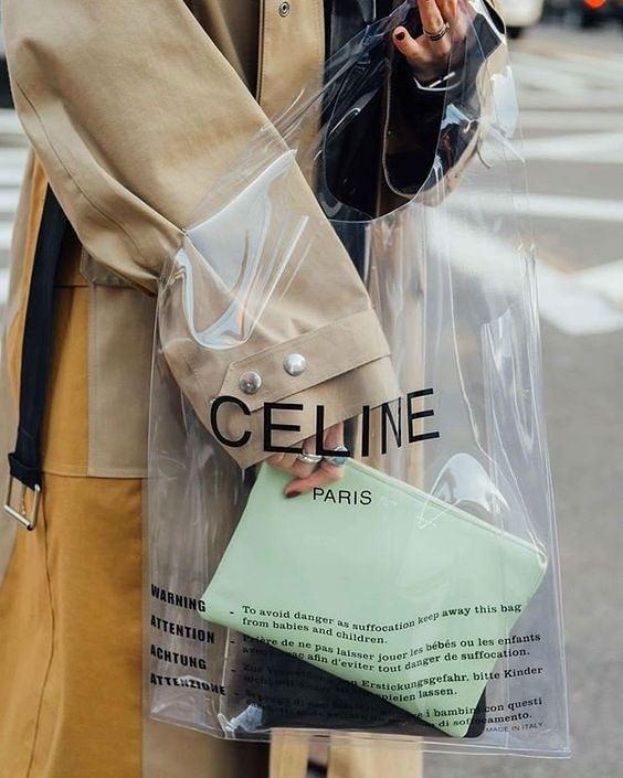 Прозрачни отношения с найлоновите чанти