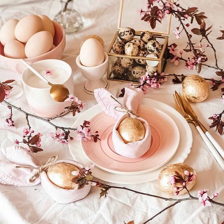 Една по-изтънчена версия на Великденската декорация
