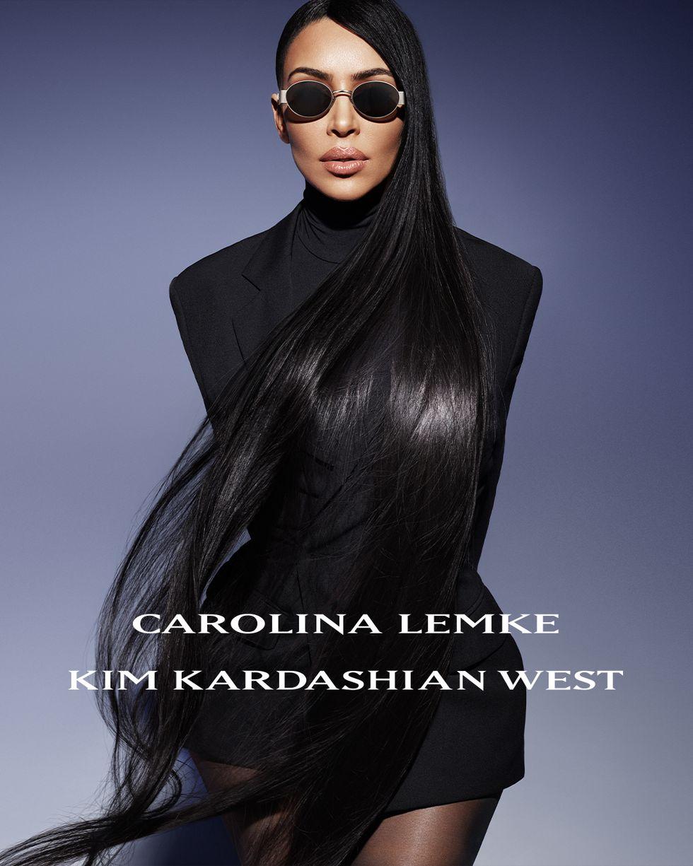 Ким Кардашиан с футуристична колекция очила от бъдещето