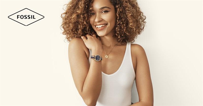 Щастливите хора не носят часовници, носят Fossil
