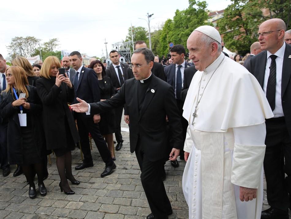 Папа Франциск- красноречив и въздействащ