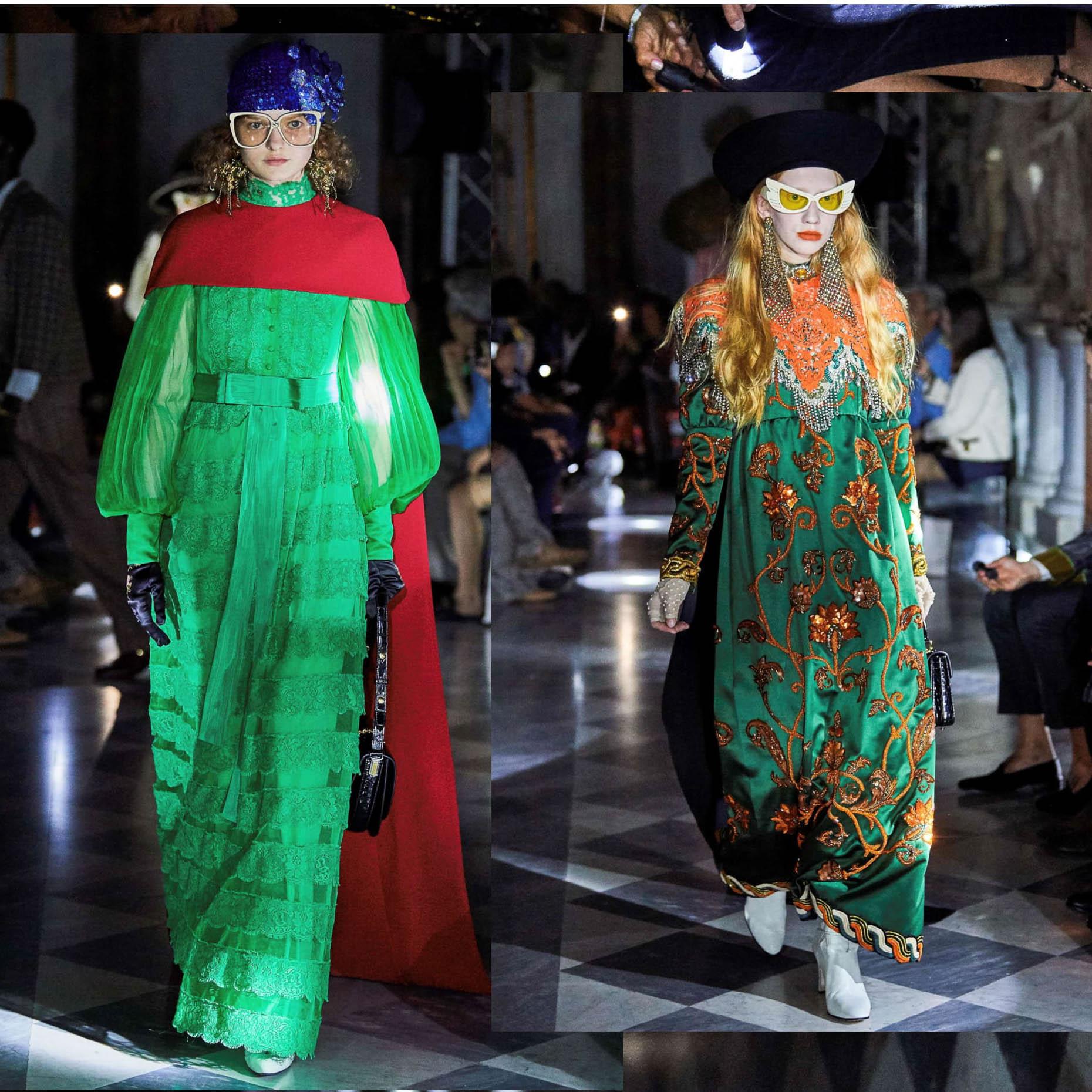 Круизна мода без задръжки от Алесандро Микеле и Gucci