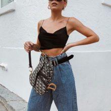 Как да носим: кроп топ за смели момичета