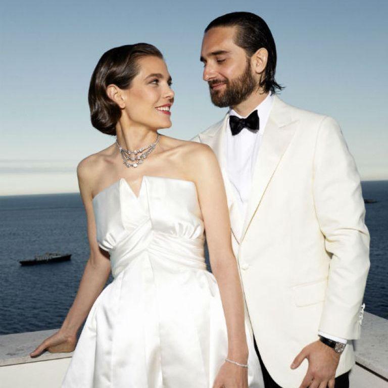 Шарлот Казираги от Монако и нейната приказна сватба