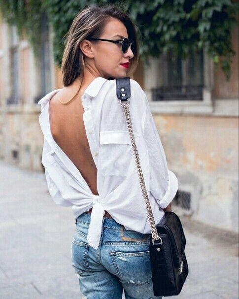 1 бяла риза = 10 аутфита