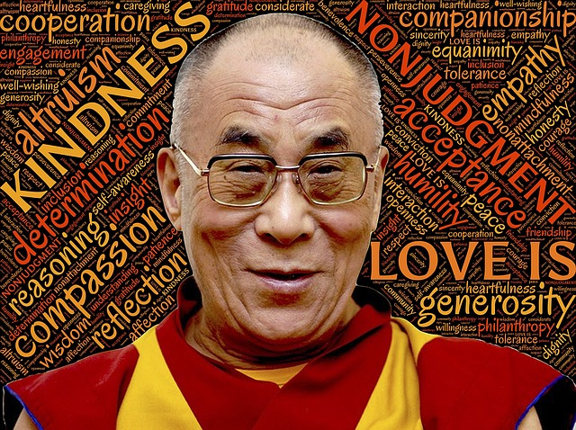 14 вдъхновяващи урока от 14-тия Далай Лама