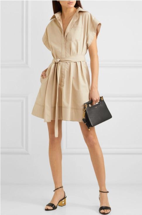 Къса рокля с колан от GIVENCHY